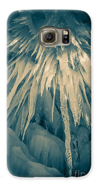 Ice Cave Galaxy S6 Case by Edward Fielding