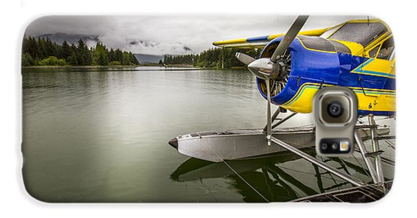 Idle Float Plane At Juneau Airport Galaxy S6 Case by Darcy Michaelchuk
