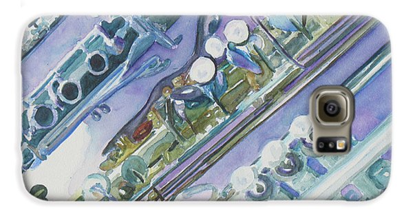 I'm Still Painting On The Keys Galaxy S6 Case by Jenny Armitage