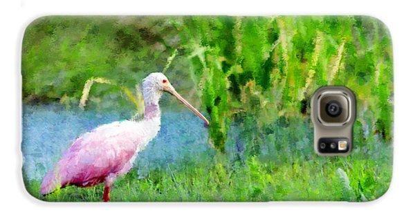 In The Bayou #1 Galaxy S6 Case by Betty LaRue