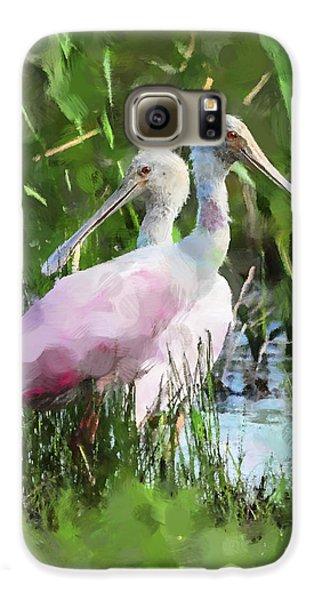 In The Bayou #2 Galaxy S6 Case by Betty LaRue