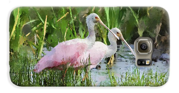 In The Bayou #3 Galaxy S6 Case by Betty LaRue