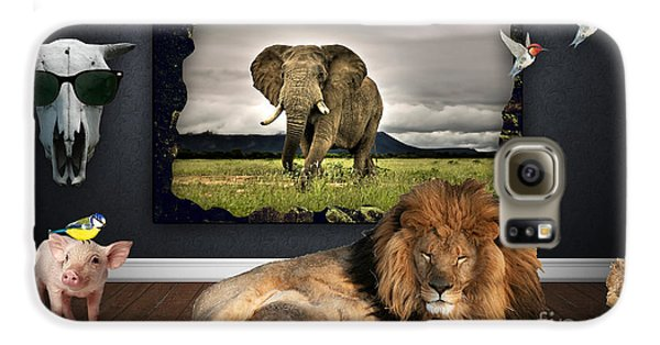 In The Jungle Galaxy S6 Case by Marvin Blaine
