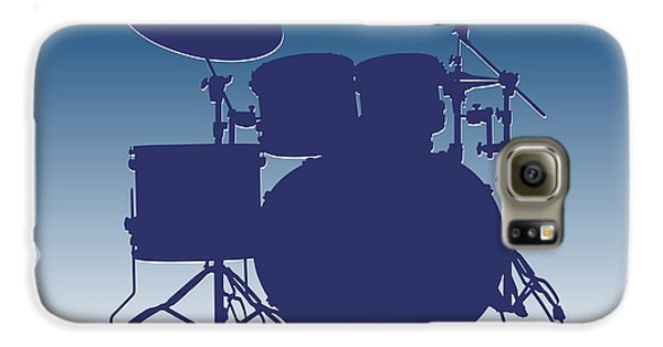 Indianapolis Colts Drum Set Galaxy S6 Case by Joe Hamilton