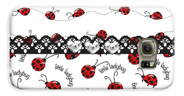 Innocent Ladybugs  Galaxy S6 Case by Debra  Miller