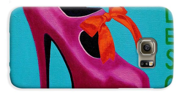 Irish Burlesque Shoe    Galaxy S6 Case by John  Nolan