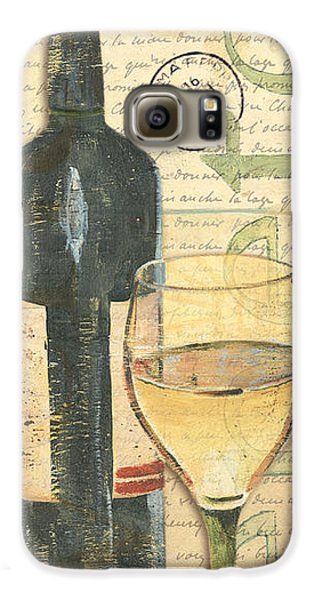 Italian Wine And Grapes 1 Galaxy S6 Case by Debbie DeWitt