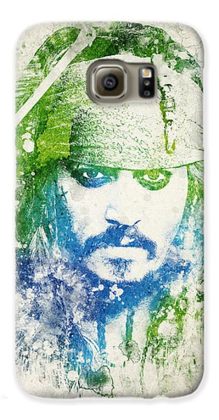 Jack Sparrow Galaxy S6 Case by Aged Pixel