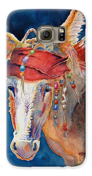 Jack Burro -  Donkey Galaxy S6 Case by Deb  Harclerode