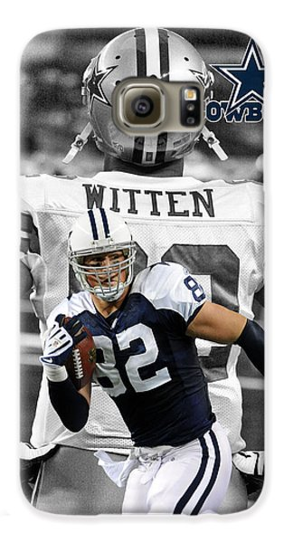 Jason Witten Cowboys Galaxy S6 Case by Joe Hamilton