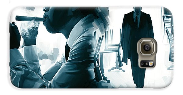 Jay-z Artwork 3 Galaxy S6 Case by Sheraz A