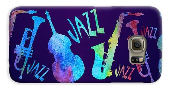 Jazzy Combo Galaxy S6 Case by Jenny Armitage