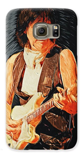 Jeff Beck Galaxy S6 Case by Taylan Soyturk