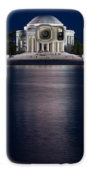 Jefferson Memorial Washington D C Galaxy S6 Case by Steve Gadomski