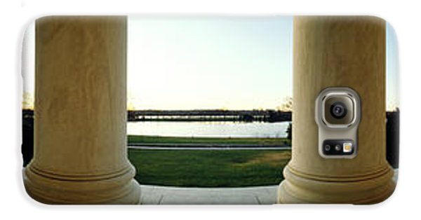 Jefferson Memorial Washington Dc Galaxy S6 Case by Panoramic Images