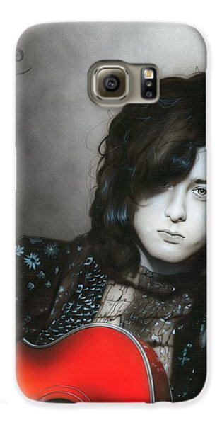 ' Jimmy Page ' Galaxy S6 Case by Christian Chapman Art