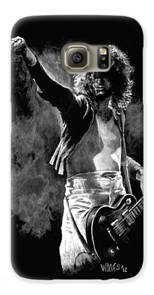 Jimmy Page Galaxy S6 Case by William Walts