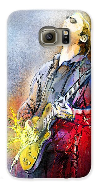Joe Bonamassa 02 Samsung Galaxy Case by Miki De Goodaboom
