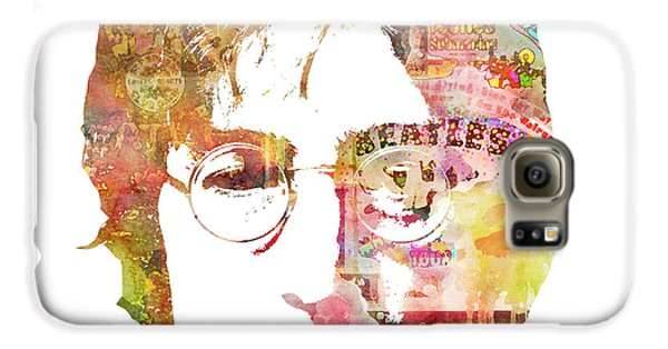 John Lennon Galaxy S6 Case by Mike Maher