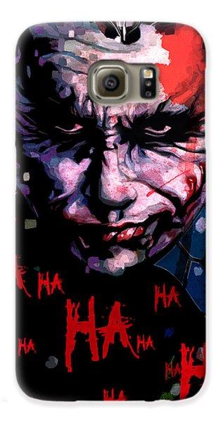 Joker Galaxy S6 Case by Jeremy Scott