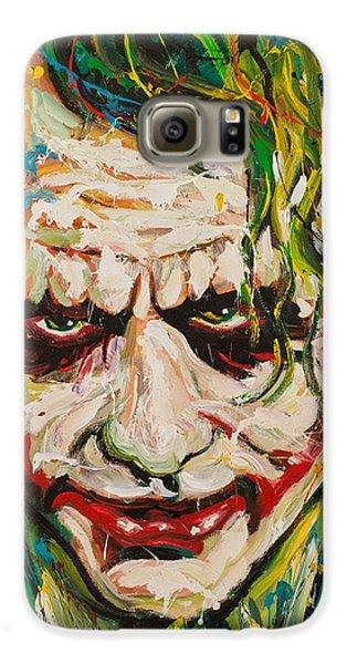 Joker Galaxy S6 Case by Michael Wardle