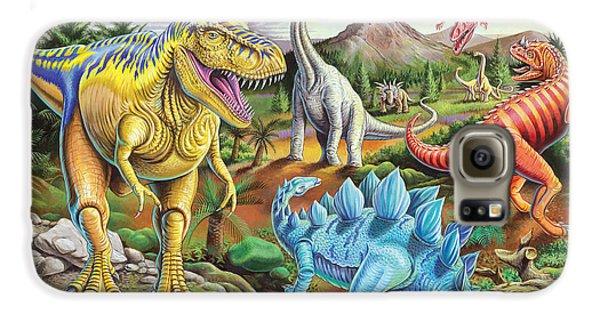 Jurassic Jubilee Galaxy S6 Case by Mark Gregory