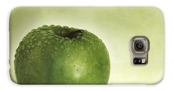 Just Green Galaxy S6 Case by Priska Wettstein
