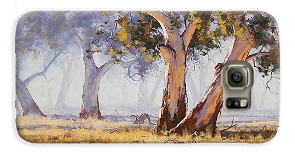 Kangaroo Grazing Galaxy S6 Case by Graham Gercken