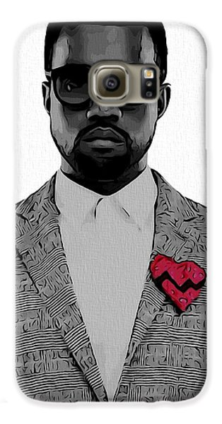 Kanye West  Galaxy S6 Case by Dan Sproul