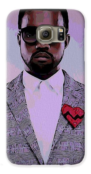 Kanye West Poster Galaxy S6 Case by Dan Sproul