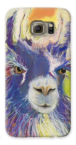 King Charles Galaxy S6 Case by Pat Saunders-White
