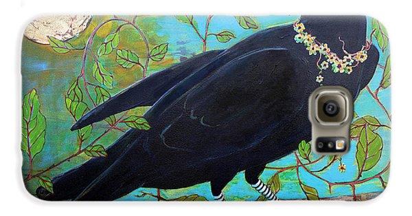 King Crow Galaxy S6 Case by Blenda Studio