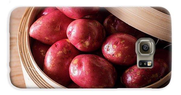 King Edward Potatoes Galaxy S6 Case by Aberration Films Ltd