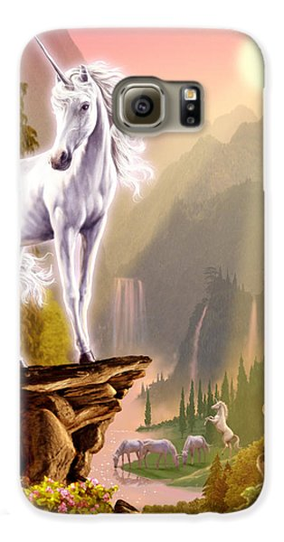 King Of The Valley Galaxy S6 Case by Garry Walton