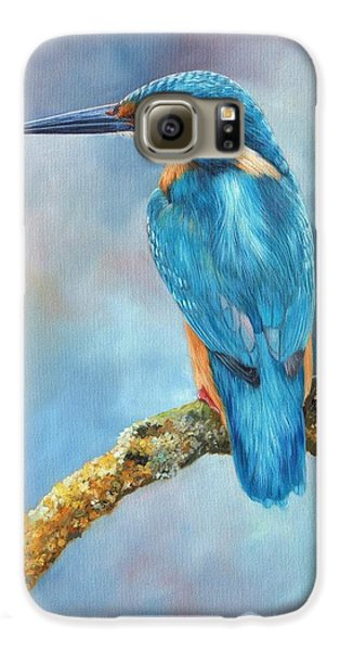 Kingfisher Galaxy S6 Case by David Stribbling