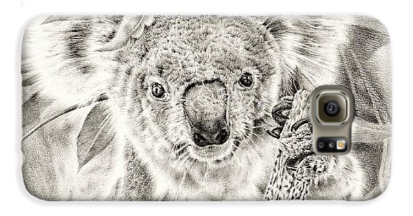 Koala Garage Girl Galaxy S6 Case by Remrov
