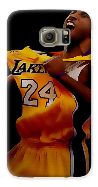 Kobe Bryant Sweet Victory Galaxy S6 Case by Brian Reaves