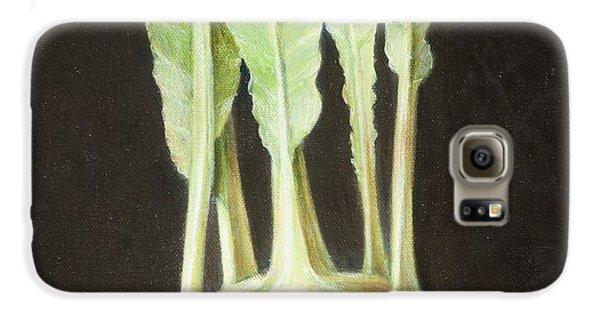 Kohl Rabi, 2012 Acrylic On Canvas Galaxy S6 Case by Lincoln Seligman