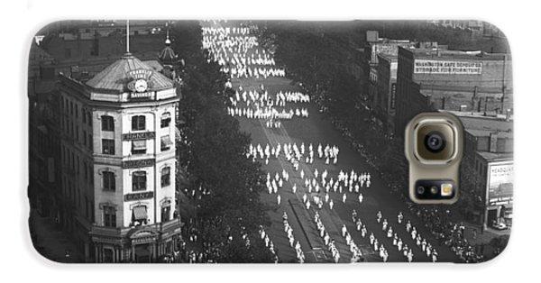 Ku Klux Klan Parade Galaxy S6 Case by Underwood Archives