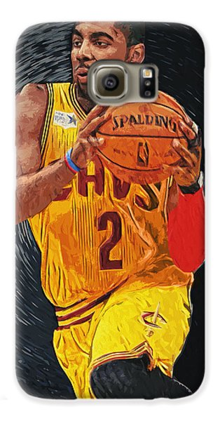 Kyrie Irving Galaxy S6 Case by Taylan Soyturk