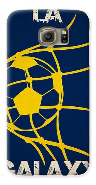 La Galaxy Goal Galaxy S6 Case by Joe Hamilton