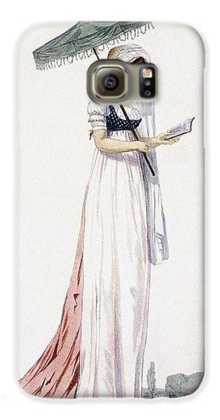 Ladies Elegant Summer Dress Galaxy S6 Case by English School