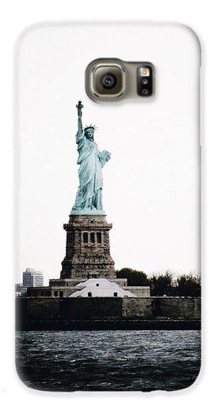 Lady Libery Galaxy S6 Case by Natasha Marco