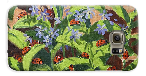 Ladybirds Galaxy S6 Case by Andrew Macara