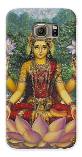Lakshmi Galaxy S6 Case by Vrindavan Das