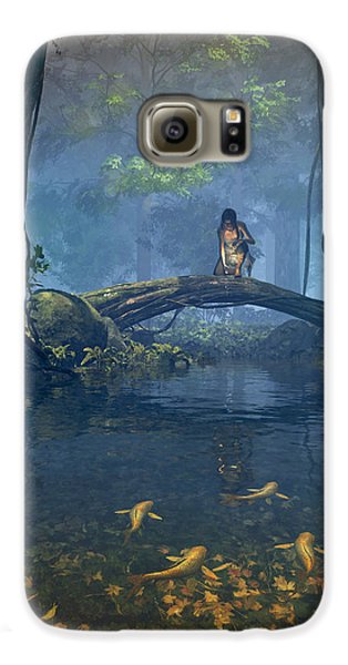 Lantern Bearer Galaxy S6 Case by Cynthia Decker
