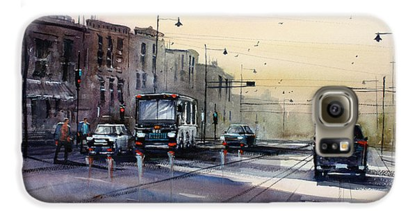 Last Light - College Ave. Galaxy S6 Case by Ryan Radke