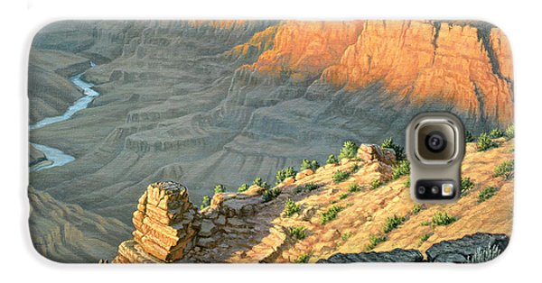 Late Afternoon-desert View Galaxy S6 Case by Paul Krapf