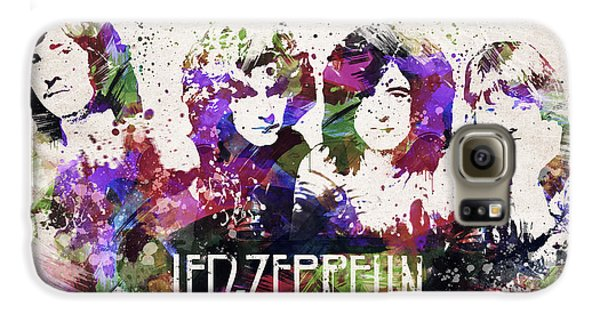 Led Zeppelin Portrait Galaxy S6 Case by Aged Pixel