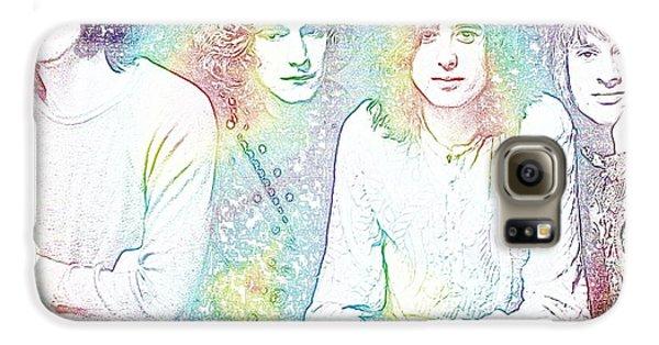 Led Zeppelin Tie Dye Galaxy S6 Case by Dan Sproul